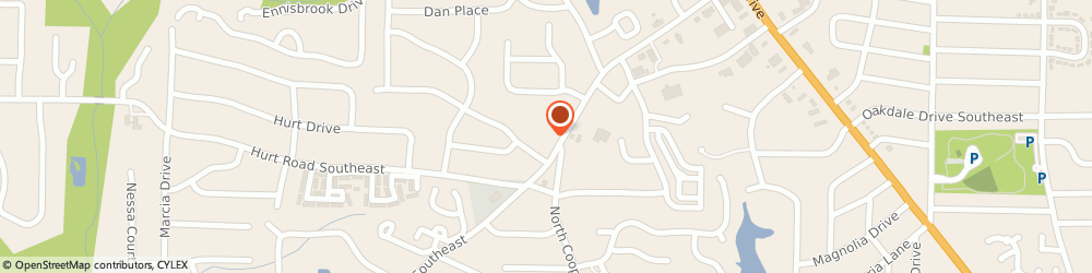 Route/map/directions to Smyrna KinderCare, 30082 Smyrna, 555 Concord Rd SE