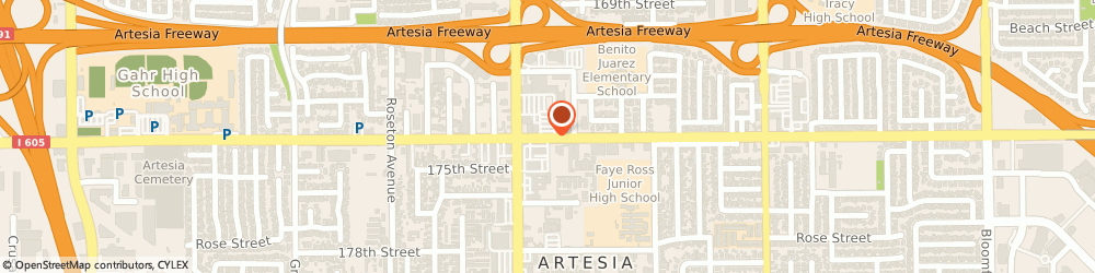 Route/map/directions to Dollar Tree Store, 90701 Artesia, 11837 ARTESIA BLVD