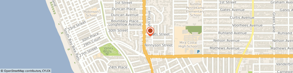Route/map/directions to Brooklyn Brick Oven Pizza, 90266 Manhattan Beach, 500 S Sepulveda Blvd Ste 203