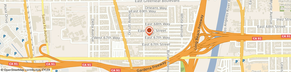 Route/map/directions to Jeff Murphy Piano Services, 90805 Long Beach, 205 E 67th Way