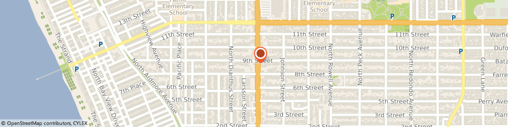 Route/map/directions to Jack in the Box, 90266 Manhattan Beach, 815 N Sepulveda Blvd