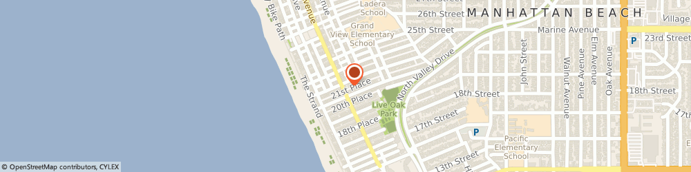Route/map/directions to Bobo Chinese Deli, 90266 Manhattan Beach, 2114 Highland Ave