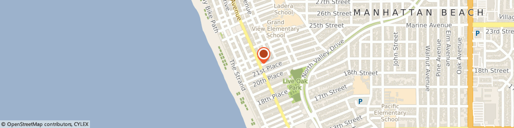 Route/map/directions to Yellow Vase, 90266 Manhattan Beach, 2201 Highland Ave.