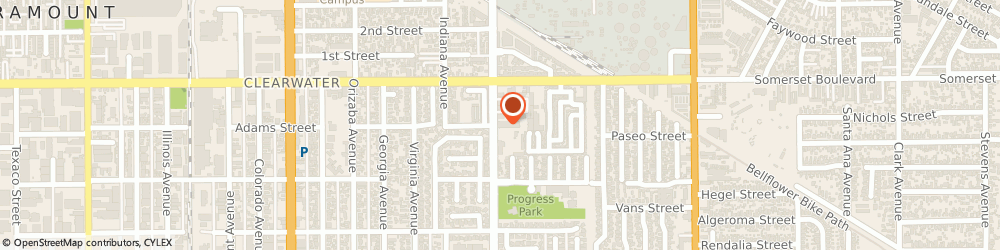 Route/map/directions to Farmers Insurance - Shahram Arefadib, 90723 Paramount, 15200 Downey Ave