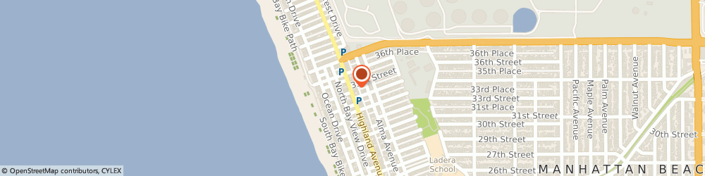 Route/map/directions to Sloopy s, 90266 Manhattan Beach, 3416 Highland Ave