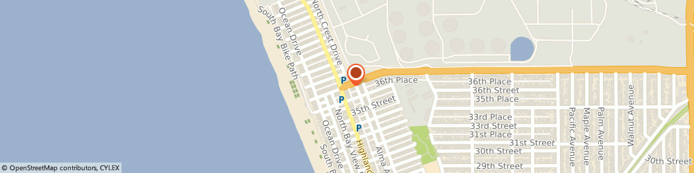 Route/map/directions to Beach Chinese Food To Go, 90266 Manhattan Beach, 314 ROSECRANS AVENUE