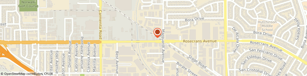 Route/map/directions to Pipeworks Inc., 13729 Santa Fe Springs, 13729 E. ROSECRANS AVE.,