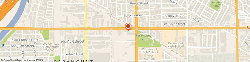 Route/map/directions to Navy Federal Credit Union ATM, 90723 Paramount, 7844 Rosecrans Avenue