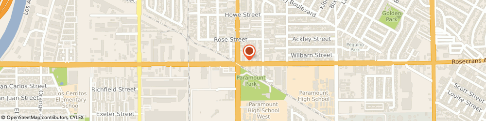Route/map/directions to Navy Federal Credit Union ATM, 90723 Paramount, 14158 Paramount