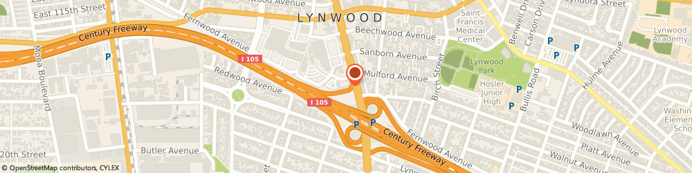 Route/map/directions to Travelodge Lynwood, 90262 Lynwood, 11401 Long Beach Blvd.