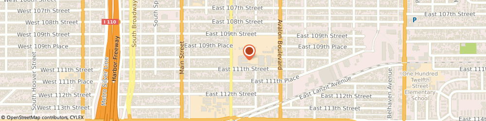 Route/map/directions to Boys & Girls Clubs of America LOS ANGELES, 90061 Los Angeles, 325 E 111Th St