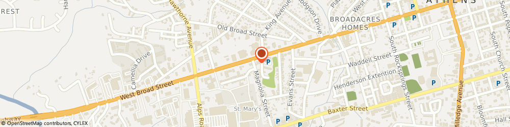 Route/map/directions to I Do I Do Bridal Center, 30606 Athens, 2045 W Broad St