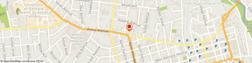 Route/map/directions to Sonia Says, 30606 Athens, 798 PRINCE AVE