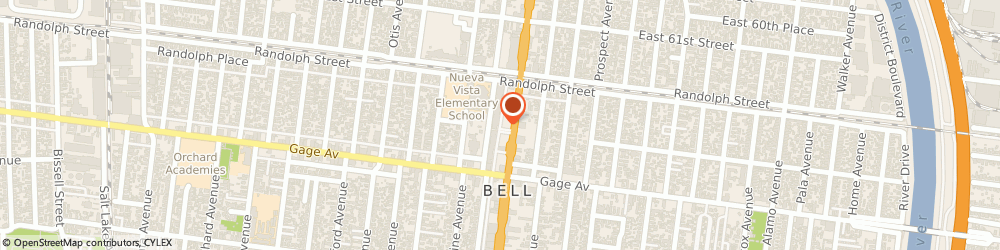 Route/map/directions to Dollar Tree Store, 90201 Bell, 6207 ATLANTIC AVE