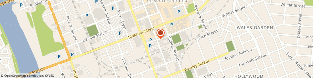 Route/map/directions to University Of South Carolina - Post Office Campus, 29208 Columbia, 503 MAIN STREET