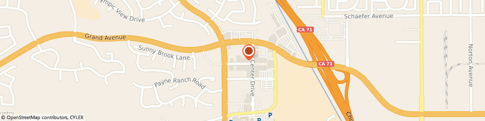Route/map/directions to XXI, 91709 Chino Hills, 13860 City Center Dr., Space #5085