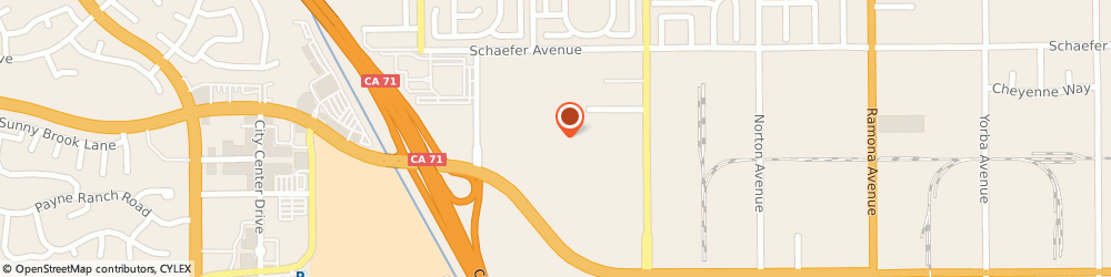 Route/map/directions to Target, 91710 Chino, 3944 GRAND AVE