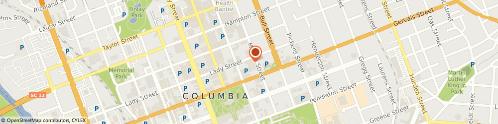 Route/map/directions to Post Office - Capitol, 29201 Columbia, 1330 LADY STREET STE 1