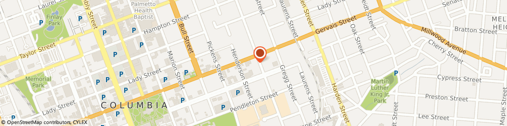 Route/map/directions to Firestone, 29201 Columbia, 1738 Gervais St