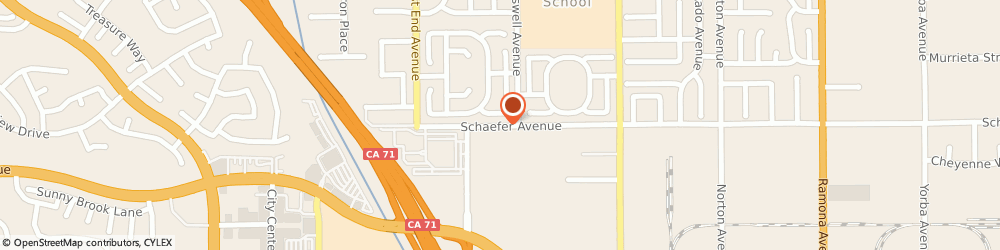 Route/map/directions to ABC Heating & Air Conditioning, 91710 Chino, 3833 Schaefer Ave