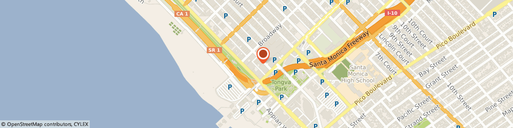 Route/map/directions to Laboratory Corporation Of America, 90401 Santa Monica, 1450 10Th St. Suite 406
