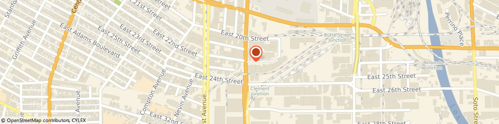 Route/map/directions to Universal Elastic & Garment Supply, 90058 Los Angeles, 2200 South Alameda Street