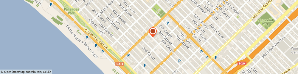 Route/map/directions to The UPS Store, 90401 Santa Monica, 1212 Fifth St