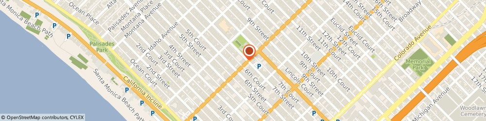 Route/map/directions to Groei Sourcing & Manfacturing, 90401 Santa Monica, 631 Wilshire Blvd