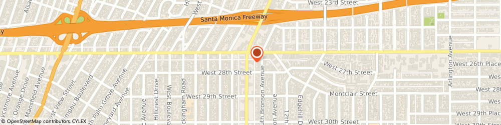 Route/map/directions to Paintcraft Ace Hardware, 90016 Los Angeles, 2620 CRENSHAW BLVD