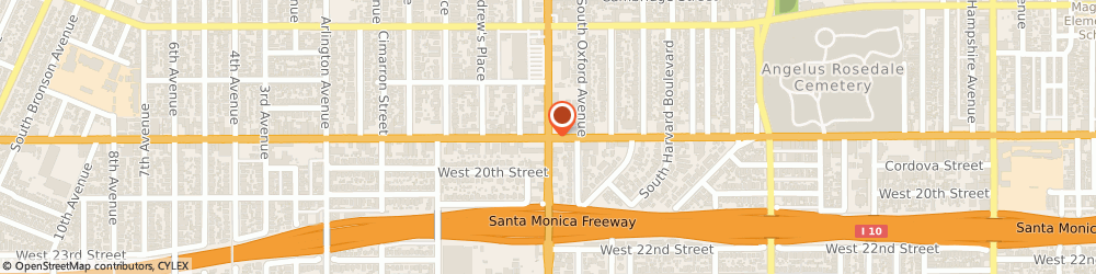 Route/map/directions to Somper Furs, 90018 Los Angeles, 2270 W Washington Blvd