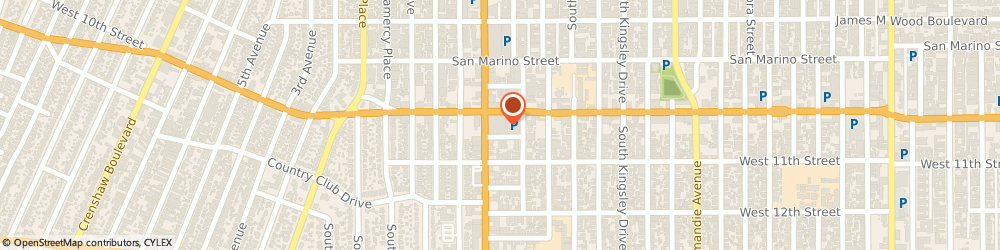 Route/map/directions to Emba Co, 90006 Los Angeles, 3250 West Olympic Boulevard # 212