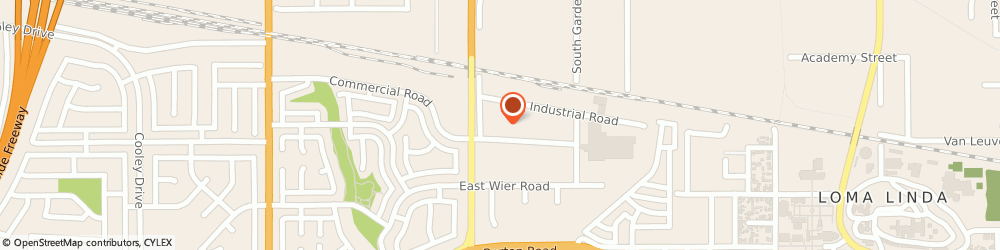 Route/map/directions to Farmers Insurance - Leslie Palcsik, 92408 San Bernardino, 350 Commercial Rd