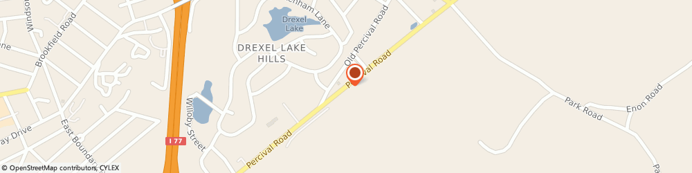 Route/map/directions to U-Haul Co., 29223 Columbia, 2401 PERCIVAL RD