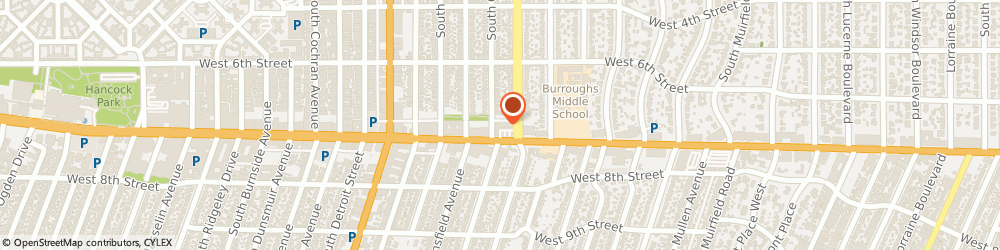 Route/map/directions to Mathnasium, 90036 Los Angeles, 5001 Wilshire Blvd