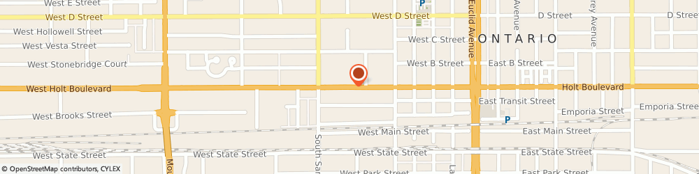 Route/map/directions to Little Caesars Pizza, 91762 Ontario, 602-B W. Holt Boulevard