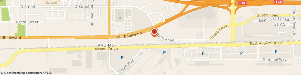 Route/map/directions to Ontario Gateway Hotel, 91761 Ontario, 2200 E. Holt Boulevard