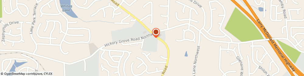 Route/map/directions to Little Caesars Pizza, 30101 Acworth, 2639 Hickory Grove Road