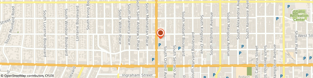 Route/map/directions to a & b Ace Hardware, 90020 Los Angeles, 513 S WESTERN AVE