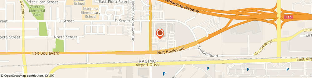 Route/map/directions to Ayres Boutique Suites, 91764 Ontario, 204 N VINEYARD AVE