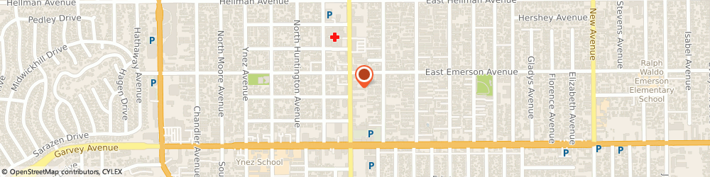 Route/map/directions to Jmc Co, 91754 Monterey Park, 306 N Garfield Ave
