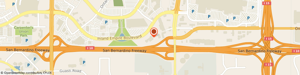 Route/map/directions to CarMax Auto Superstore, 91764 Ontario, 4100 East Inland Empire Blvd.