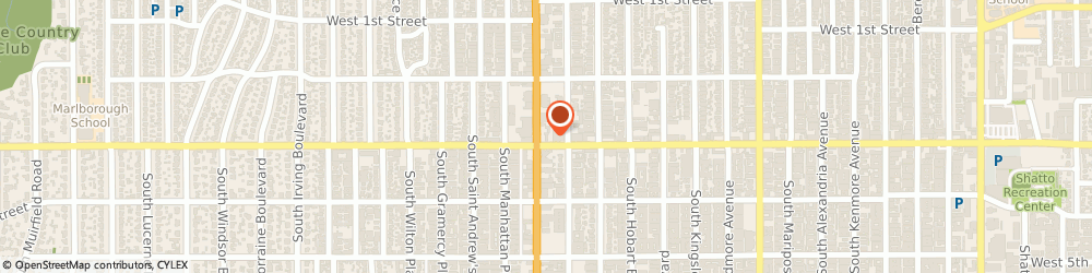 Route/map/directions to Jins Western Shell, 90004 Los Angeles, 270 SOUTH WESTERN AVENUE