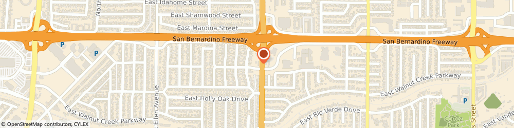 Route/map/directions to Exxon Mobil WEST COVINA, 91791 West Covina, 201 S Azusa Ave