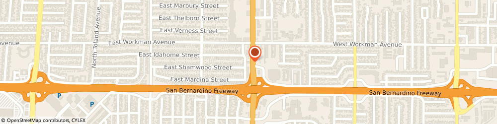 Route/map/directions to Midas Auto Service Experts, 91791 West Covina, 215 North Azusa Avenue