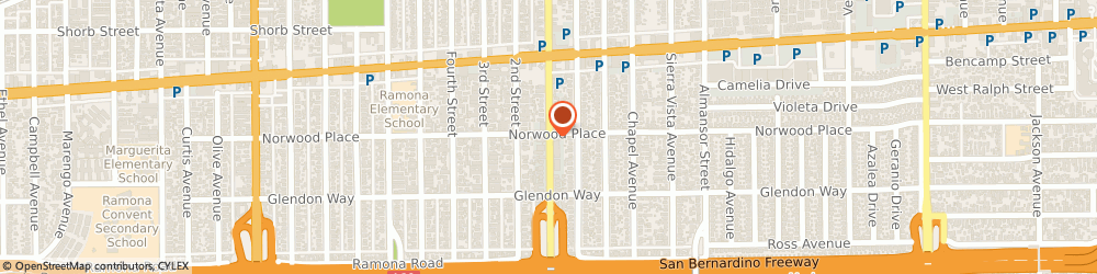 Route/map/directions to Ivy Hong Ngo  Coldwell Banker George Realty, 91801 Alhambra, 1611 S Garfield Ave