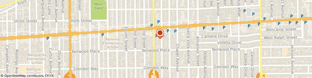 Route/map/directions to Link Law Ctr, 91801 Alhambra, 1432 S GARFIELD AVE
