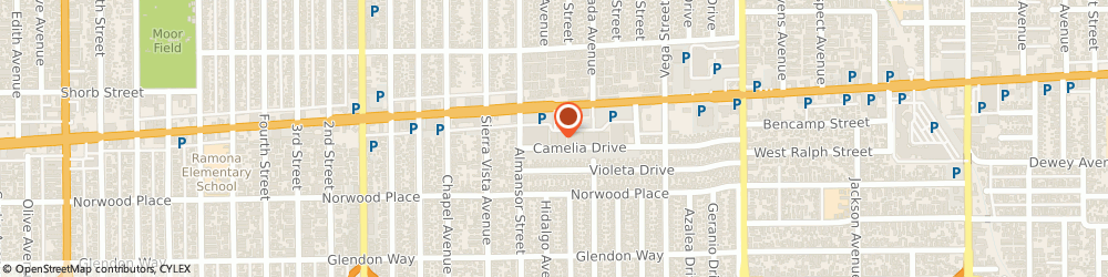 Route/map/directions to Atm Great Western Bank, 91801 Alhambra, 726 E Valley Blvd