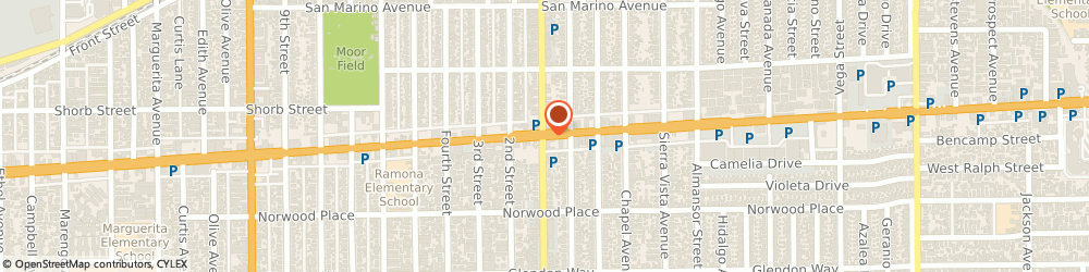 Route/map/directions to Kiki Bakery, 91801 Alhambra, 21 E Valley Blvd