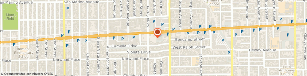 Route/map/directions to Atm Great Western Bank, 91801 Alhambra, 1300 E Valley Blvd