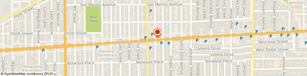 Route/map/directions to Atm Great Western Bank, 91801 Alhambra, 43 E Valley Bl
